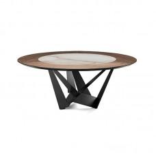Cat. Skorpio Ker-wood Round étkezőasztal
