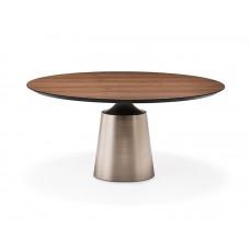 Cattelan Yoda Wood kerek asztal